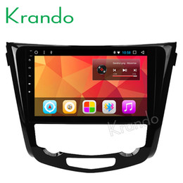 """Car Audio Stereo Touch Screen Australia - Krando Android 8.1 10.1"""" Touch screen car dvd Multimedi player for NISSAN X-TRAIL  Rouge 2013+ audio player gps navigation wifi"""