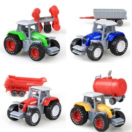 $enCountryForm.capitalKeyWord Australia - Fashion New Simulation Engineering Vehicle Sliding Farm Tractor Car Model New Fashion Plastic Car Model Toy