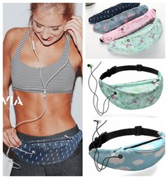 Camping paCks online shopping - 3D Printed Waist Bag Outdoor Waterproof Fanny Pack Unisex Women Girls Belt Chest Bags Waist Pack KKA6573