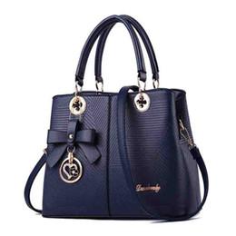 $enCountryForm.capitalKeyWord UK - Simple Embossed Lady Handbag Spring And Summer New Fashion Bag OL Single Shoulder Slanting Bag One Hair Substitute Bow #173051
