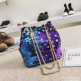 Luggage & Bags Cross Body Bag New Fashion Lady Girl Cute Laser Mermaid Tail Package Fishtail Makeup Bag Storage Bags Shoulder Bags A1 Top-handle Bags