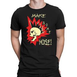 $enCountryForm.capitalKeyWord Australia - Mens T-Shirt MAKE SOME NOISE Punk Band Guitar Drums Rock Punks Novelty Music Funny free shipping Unisex Casual top
