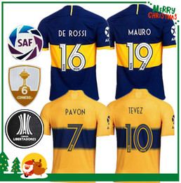 Soccer boca online shopping - 2019 Boca Juniors Jersey Home Away Boca Juniors GAGO OSVALDO CARLITOS PEREZ DE ROSSI sports football shirt