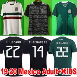 a45bc6b67 ChiCharito jersey kids online shopping - 2019 Mexico GOLD CUP Black MEN  WOMEN Soccer Jerseys World