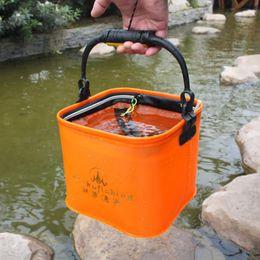 Fish Hand Bags Australia - EVA Fishing Bag Handing Outdoor Portable Fishing Bucket Live Fish Box Sea Waterproof Bucket Fishi Accessories Bags #829287