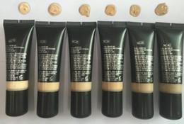 Makeup Free Shiping Australia - DHL 144pcs free shiping !Pro Longwear Mourishing Waterproof Brand Makeup Liquid Foundation fond de teint 25ml 6 Colors BB Cream CC Cream