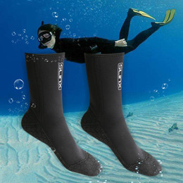 $enCountryForm.capitalKeyWord Australia - Professional 3MM Neoprene Scuba Dive Socks Wetsuit Material Shoes Snorkeling Equipment Winter Swim Warm Boots XS~XXL