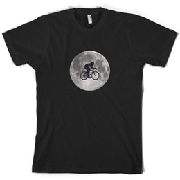 Cycling Cyclist Australia - Cycling Moon Mens T-Shirt Cyclist Bicycle Cycle Bike 10 Colours Funny free shipping Unisex Casual