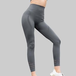 bc89e6e57e2 High Waist Stretched Sports Pants seamless Gym Clothes Spandex Running Tights  Women Sports Leggings Fitness Yoga Pants  103726