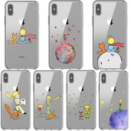 $enCountryForm.capitalKeyWord Australia - The Little Prince Earth Space Fox Clear Silicone Phone Case Cover For Iphone 5 5s Se 6 6splus 7 8 Plus X Xr Xs Max