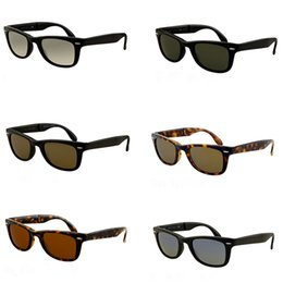 368d983532 Designer Cheap Folding Sunglasses Brand Fashion Boating Sunnies Outlet Gafas  De Sol Shades Vintage Square Sunglasses High Quality 10PCS