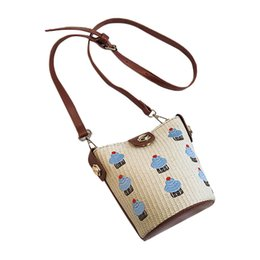 fdfead362 Chain shoulder bag women Beach Wild Messenger Shoulder Bag Solid Weaving  bags women hot sale carteras mujer de hombro y bolso#G8
