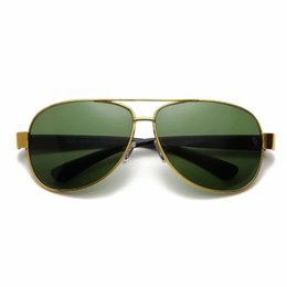 $enCountryForm.capitalKeyWord Australia - Wholesale Glass Lenses Sunglasses Fashion Brand Sunglasses Classic Metal Oval Sunglasses Fashion Glasses 4 colors quality 3378 ray