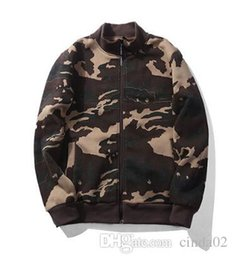 Camouflage Jacket Man's Winter Autumn Fashion Printed Capispalla New Hot Green Blue Khaki Coat