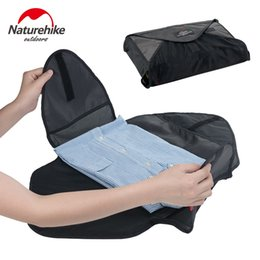 Travel Kit Clothes Australia - NatureHike Outdoor Travel Kits Portable Shirt Clothes Organizer Case Suitcase Handbag Pouch Divider Container #789748