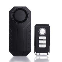 Anti theft sensors online shopping - Bike Wireless Anti theft Alarm Battery Powered Waterproof Bicycle Security Alarm Vibration Sensor M8617