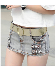 Women denim low waist jeans hip hot summer and spring version
