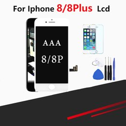 iphone screen glass kit Australia - For iPhone 8 and 8 Plus Screen Replacement Lens Pantalla With Free Tool Kit & Temper Glass