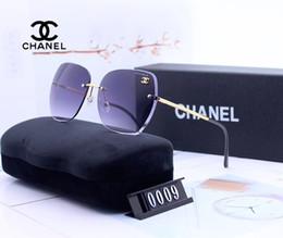 Shiny aluminum online shopping - Free ship fashion brand evidence sunglasses retro vintage men brand designer shiny gold frame laser logo women top quality with box