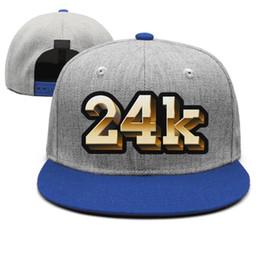$enCountryForm.capitalKeyWord Australia - 24k Magic Bruno Mars logo blue mens and womens snap back,flat brimcap ball cool designer sports running hats