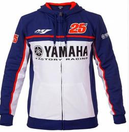 Racing Motorcycle Jackets Australia - Wholesale 25 Moto GP Team Hoodie for Yamaha M1 Factory Racing Team Jackets Motorcycle Adult Hoodie Outdoor sports Sweatshirt H