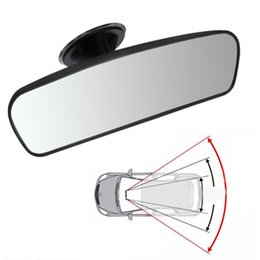 $enCountryForm.capitalKeyWord Australia - Hot Car Rear Mirror Interior Rear View Mirror With PVC Sucker Wide-angle Rearview Mirror Auto Convex Curve Car-styling