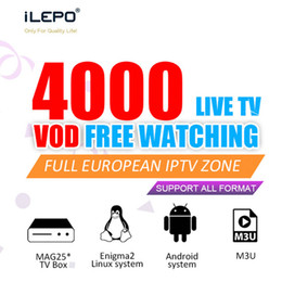 Boxes for iptv online shopping - World Iptv Subscription For France UK Italy Germany With Countries Live Abonnement Iptv Support Enigma2 M3U Mag Box Smart TV