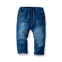 Toddler Boy Jeans Australia - Boys Jeans Denim Children Jeans Spring Autumn Kids Casual Pants Boys Trouser toddler boy clothes kids clothes boys clothing A2737