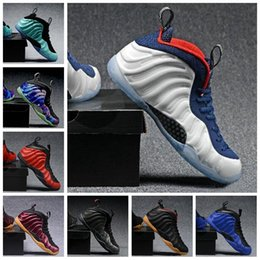 foam carbon fiber Australia - Eggplant Foams One real carbon fiber high quality Basketball Shoes TOP Factory Version mens trainers New 2018 Sneakers