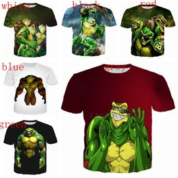 $enCountryForm.capitalKeyWord Australia - New arrives battletoads and double dragon series tide men women 3D print most popular shirt streetwear casual summer top
