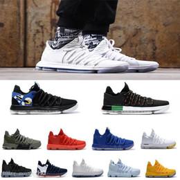 $enCountryForm.capitalKeyWord Australia - Cheap Sale All Colors Kevin Durant 10 Pe Bhm Black White Ten Basketball Shoes For Men S Kd X 10s Elite Blue Orange Sport Sneakers 40-46