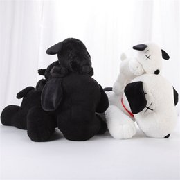 sesame toys NZ - HOT Plush Sesame Street Snoopy Kaws toys BFF jointly Plush stuffed Edition PP Cotton Doll toys As Gifts For Children gifts