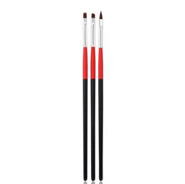 $enCountryForm.capitalKeyWord UK - by dhl or ems 200sets 3pcs set soft Professional Pen UV Gel Draw Paint Nail Art Brushes Manicure Nail Tool