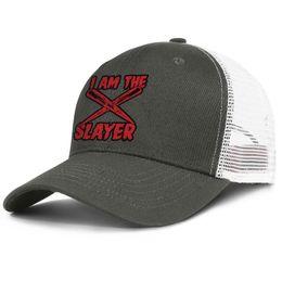 $enCountryForm.capitalKeyWord Australia - I Am The Slayer army_green mens and womens trucker cap ball styles custom baseball hats