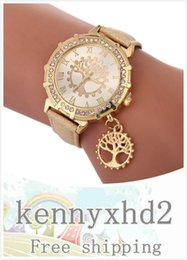 tree life watches UK - F655 Fashion, noble temperament, trend, all kinds of bracelet, life tree, fashion women's Watch