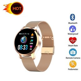 iphone compatible smart watches Australia - Q9 Smart Watch Waterproof Message call reminder Smartwatch men Heart Rate monitor Fashion Fitness Tracker for iPhone Android Cell Phone
