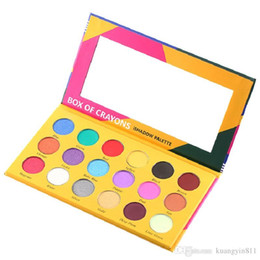 sale cosmetics box Australia - Hot Sale High Quality Palette!BOX OF CRAYONS Cosmetics Eyeshadow Palette 18 Colors Eyeshadow Palette Shimmer Matte EYE beauty