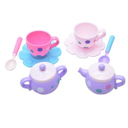 $enCountryForm.capitalKeyWord UK - 8PCS Set Fun Simulation Kitchen Toys Children's Kitchen Play House Toy Tea Set Cutlery Accessories Child Birthday Present