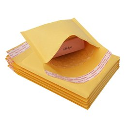 $enCountryForm.capitalKeyWord Australia - Multi-size Yellow Kraft Bubble Bags Bubble Mailers Padded Envelopes Storage Shipping Bag Self Seal Courier Bag Mailing