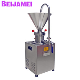 Sauce machineS online shopping - BEIJAMEI Stainless steel Electric Peanut Nut Butter Grinder Sauce Making Machine Commercial Sesame Butter Maker Colloid Mill