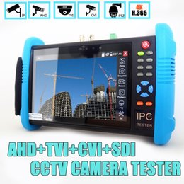 dual screen windows 2019 - 7 inch IPS Touch Screen H.265 4K IPC-9800 Plus IP Camera Tester CCTV CVBS Analog Tester Built in Wifi Dual Window discou
