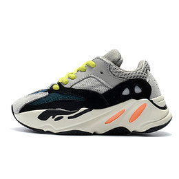 $enCountryForm.capitalKeyWord UK - Good Quality Kids Shoes Wave Runner 700 Running Shoes Kanye West Sneaker Boy Girl Trainer Sneakers best sales Children Athletic Shoes