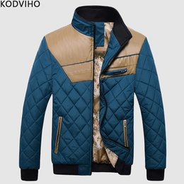 $enCountryForm.capitalKeyWord NZ - Parka Men Winter Jacket Mens Puffy Coat Man Cotton Padded Jacket Quilted Puffer Warm Jackets Male Slim Baseball Kurtka Zimowa XL