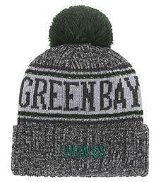 $enCountryForm.capitalKeyWord Australia - Discount Price Fashion Beanie Sideline Cold Weather Graphite Sport Knit Hat All Teams winter GREEN BAY Knitted Wool Cap 07