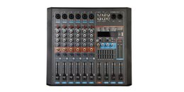 Dancing DvD online shopping - 6Channels x380W ohm Band EQ USB Bluetooth DSP Effect Audio Mixer P