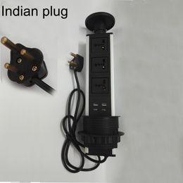 $enCountryForm.capitalKeyWord Australia - Smart Socket AU power socket outlet with AU plug for Argentina and Austrian with 3 AU power + 2 Charge USB silver and black cap