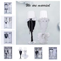 $enCountryForm.capitalKeyWord Australia - Fashion Crystal champagne glass wedding toast glass bouquet goblet wedding reception bar family decoration goblet wedding decoration T2I5087