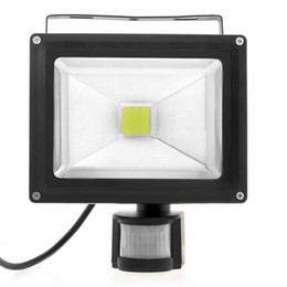 $enCountryForm.capitalKeyWord Australia - black PIR Motion sensor 10W 20W led flood garden light Induction Sense detective floodlamps AC 85-265V Lawn Spotlight
