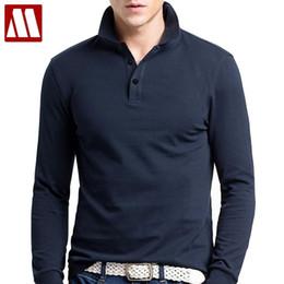 $enCountryForm.capitalKeyWord NZ - Brand Men Polo Hombre Shirt Mens Fashion Collar Shirts Long Sleeve Casual Camisetas Masculinas Plus Size S-xxxl Polos Sweatshirt C19041501