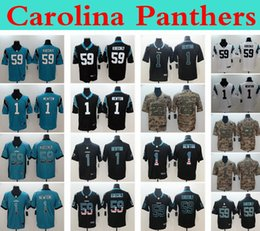Jerseys service online shopping - 2019 Men Carolina Panthers nfl Cam Newton Luke Kuechly Vapor Camo Salute to Service Vapor Untouchable Newton Football Jerseys